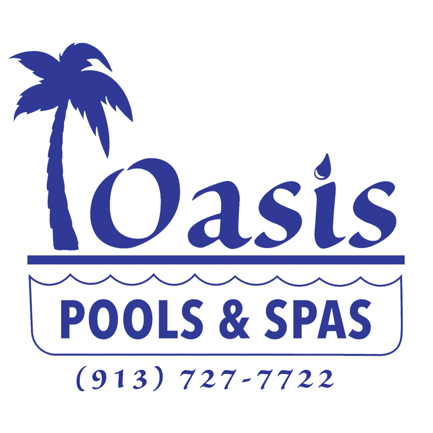 Oasis Pools & Spas Logo
